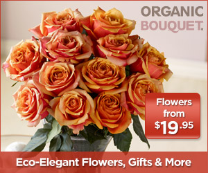 Organic Flowers and Bouquets