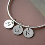 Personalized Bracelet in Sterling Silver