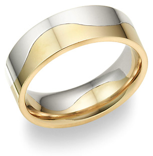 two halves wedding band - Online Wedding Rings
