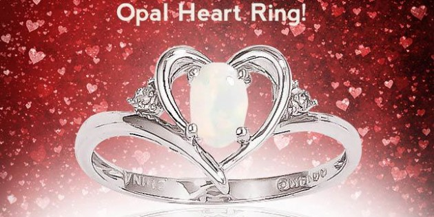 Sweepstakes Alert: Win an Opal Heart Ring!