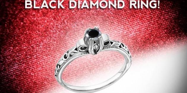Jewelry Sweepstakes: Win a Black Diamond Art Deco Ring!