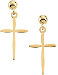 Cross Earrings for the Christian Woman